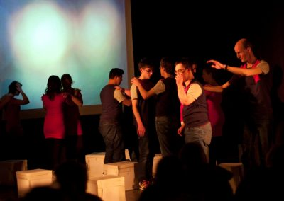 Ensemble Megaphon - Imlasi tanzt (2013) / Foto: Edgar Rothwanger